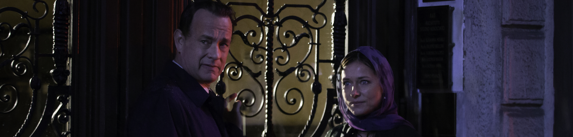 "Tom Hanks and Sidse Babett Knudsen star in Columbia Pictures'""Inferno,"" also starring Felicity Jones."