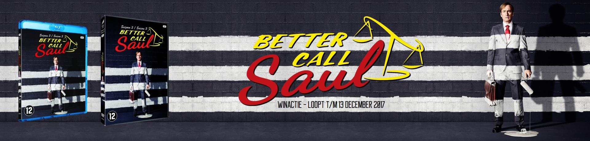 Better Call Saul - seizoen 3 WINACTIE